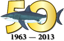 ' ' from the web at 'http://sharkresearchcommittee.com/images/50th_logo.png'